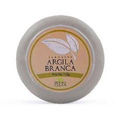 SABONETE ARGILA BRANCA 110G DERMA CLEAN